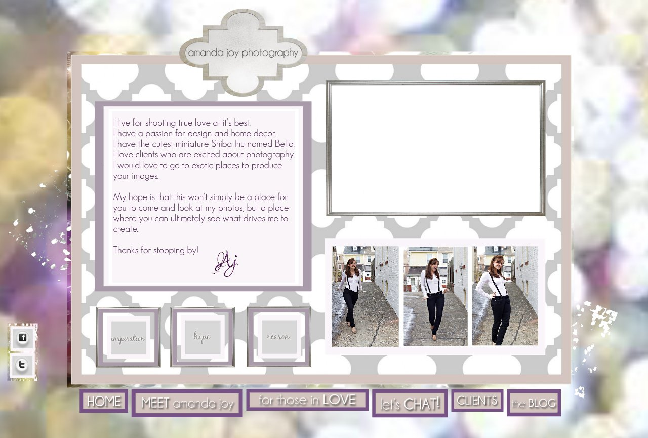Amanda Joy Homepage