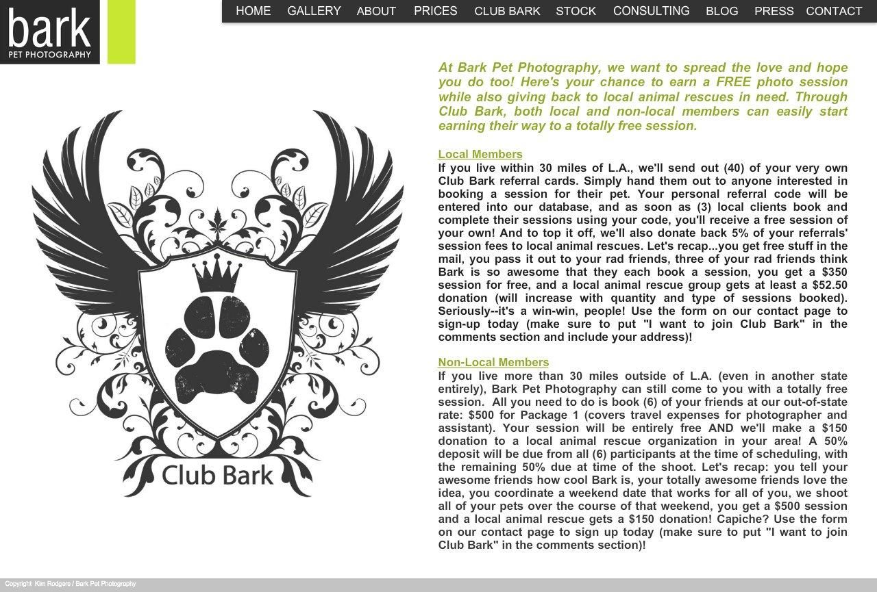 Club Bark