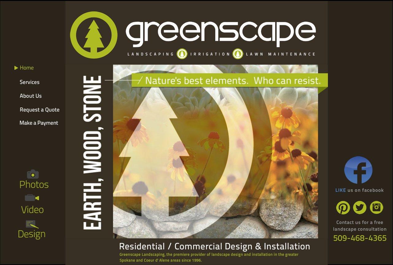 Spokane Landscape | Spokane Landscaping | Lawn Care | Snow Removal | www.SpokaneGreenscape.com