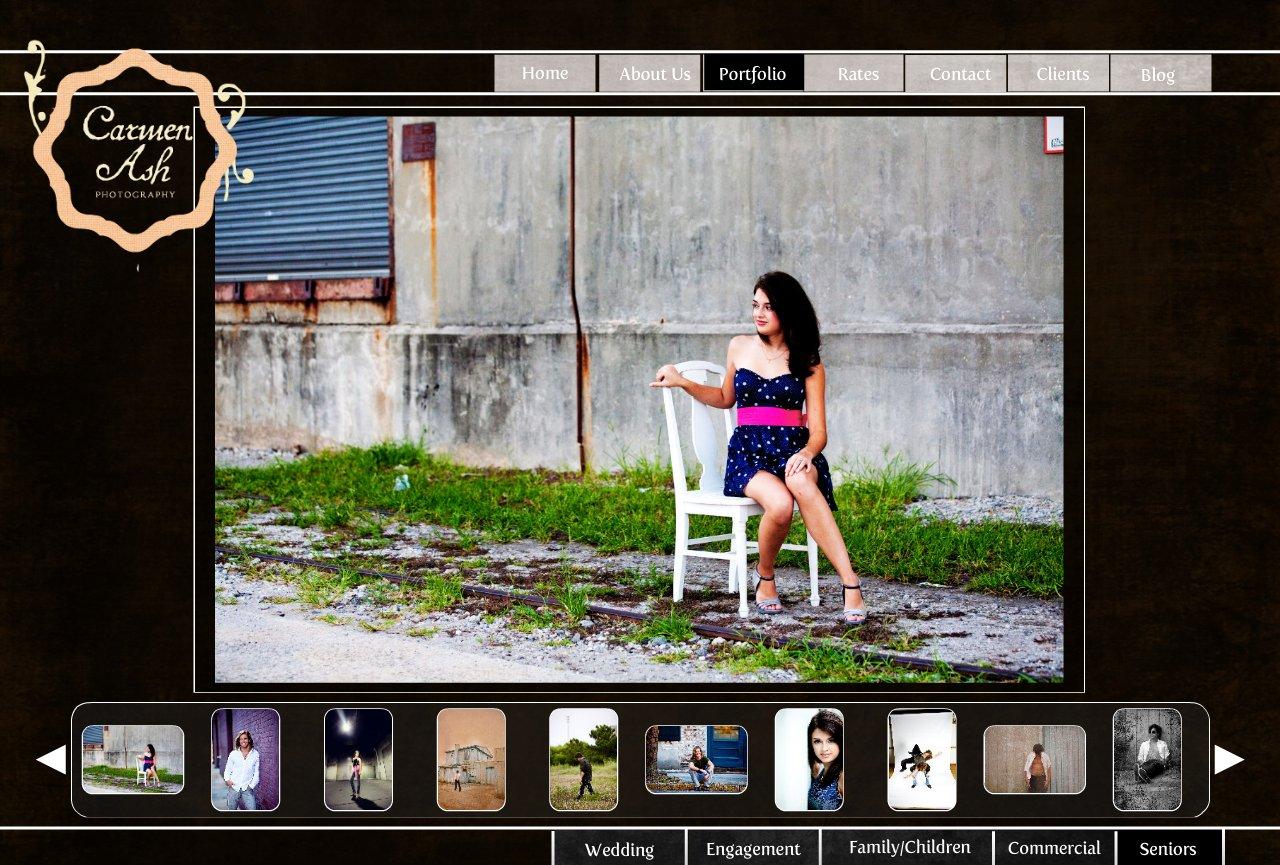 Carmen Ash | Senior Portrait Photographer | South Carolina Photographer