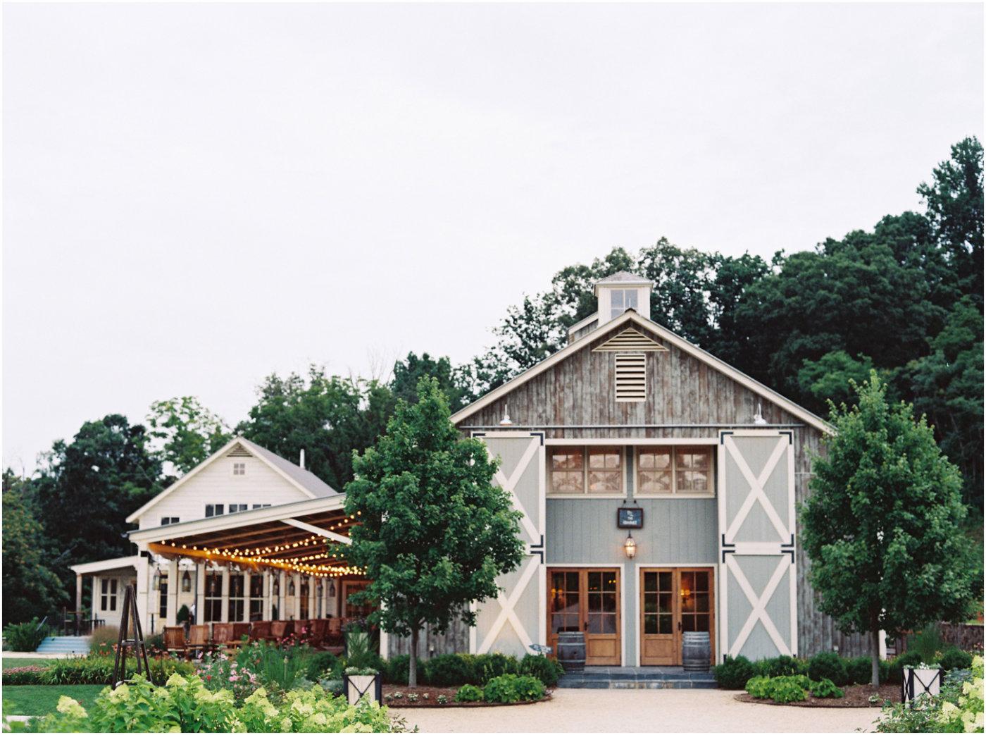 Pippin hill farm vineyard wedding venues