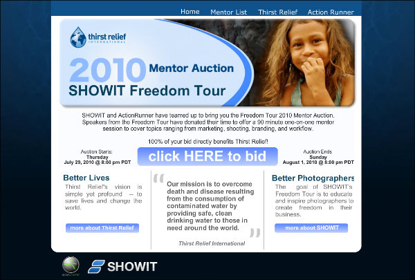 Mentor Auction