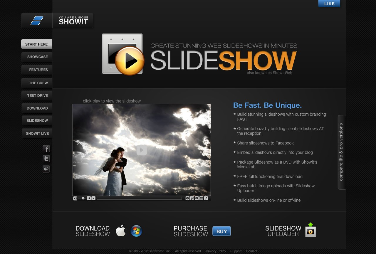 Showit Web