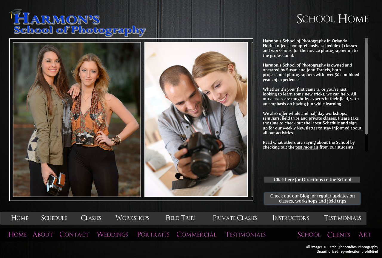 Orlando classes and workshops in digital photography