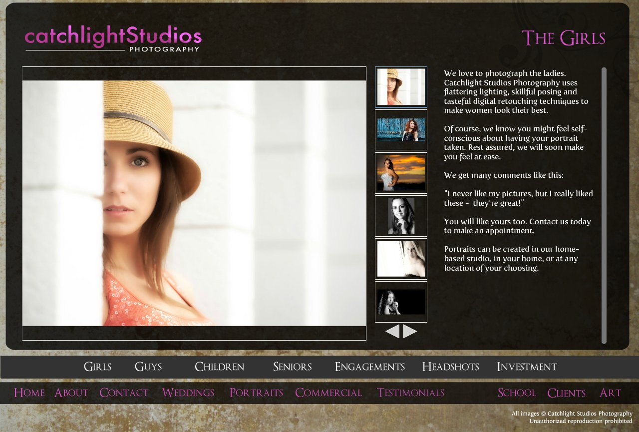 Female Portrait and Headshot photography in Orlando and central Florida