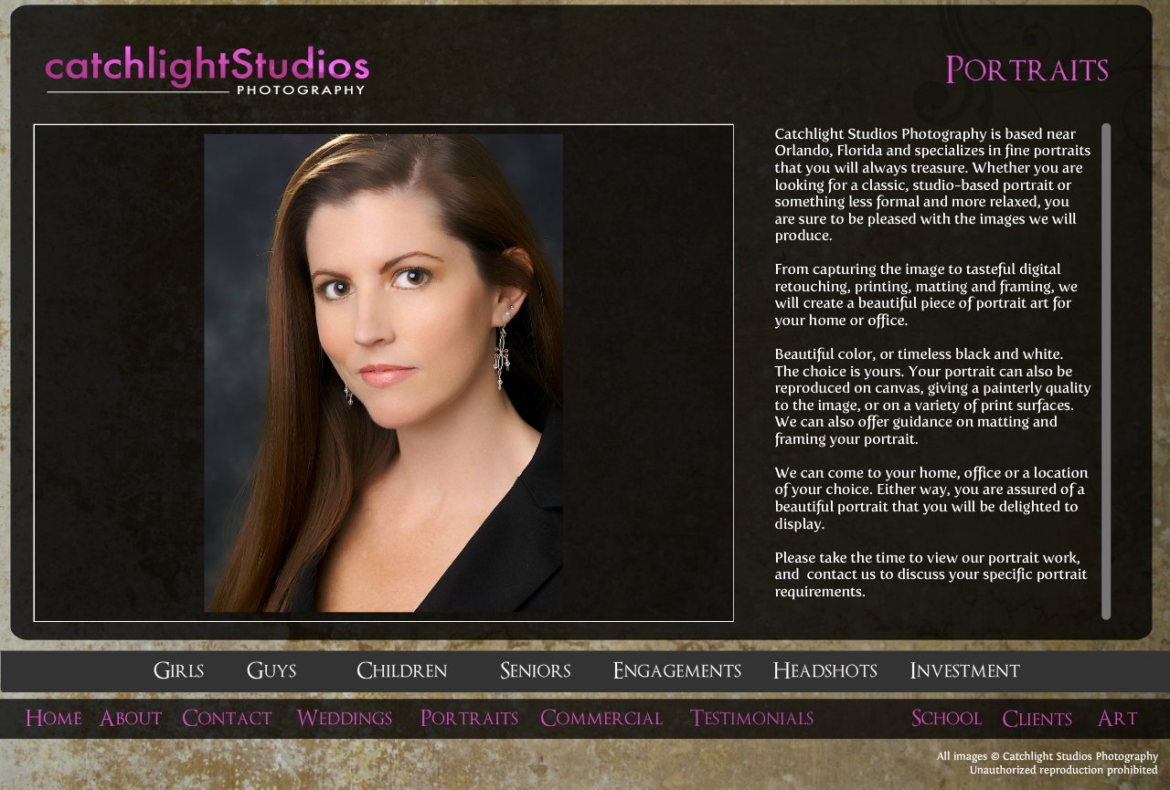 Portrait and Headshot Photography in Orlando and central Florida