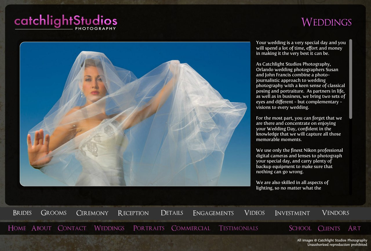 Wedding Photography in Orlando and Central Florida