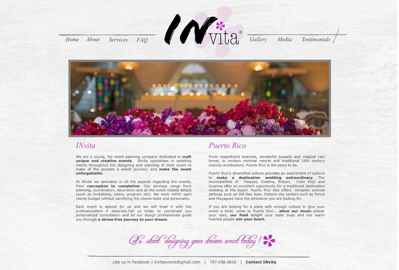 About Invita Wedding + Event Designers Destination Weddings Puerto Rico