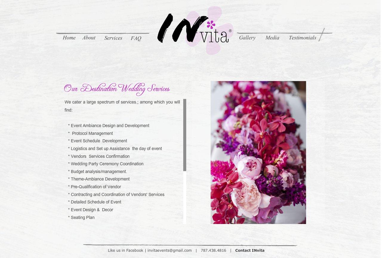 Destination Wedding Services - Invita Wedding + Event Designers Destination Wedding Planners Puerto Rico