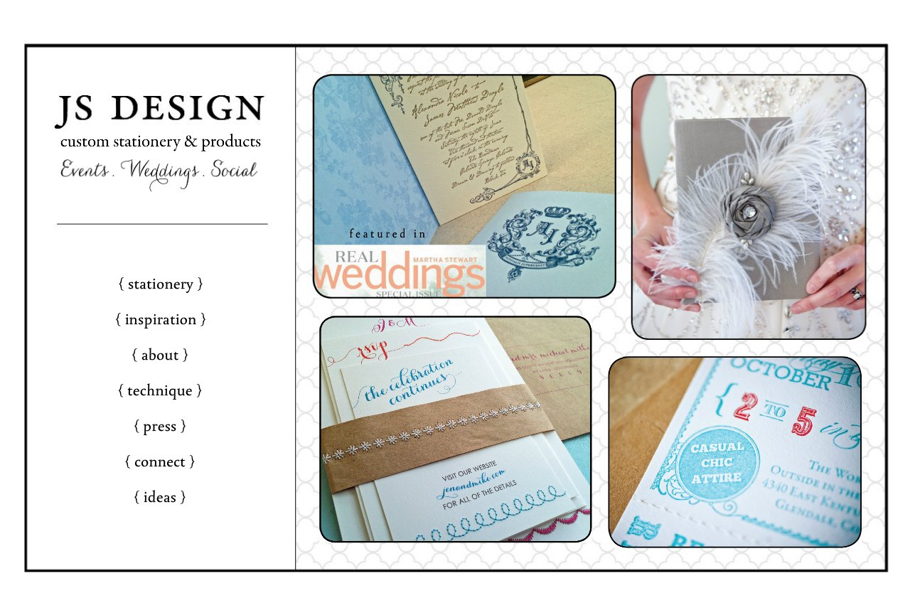 custom wedding and event stationery in Denver