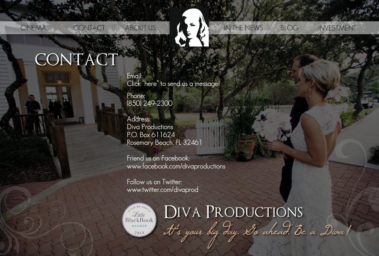 Destin Wedding Video | Diva Productions | Contact Us