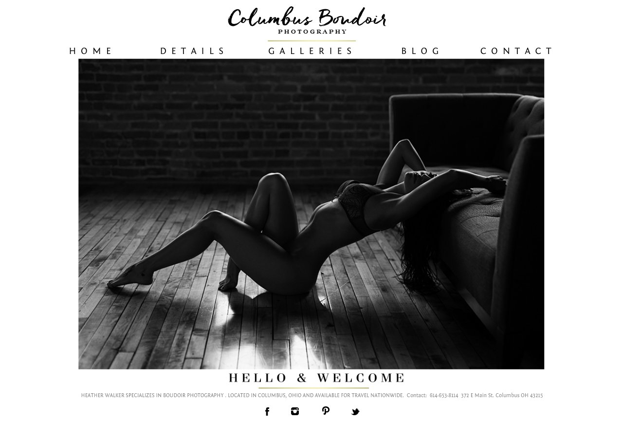 Columbus Boudoir Photography - Columbus Ohio Boudoir