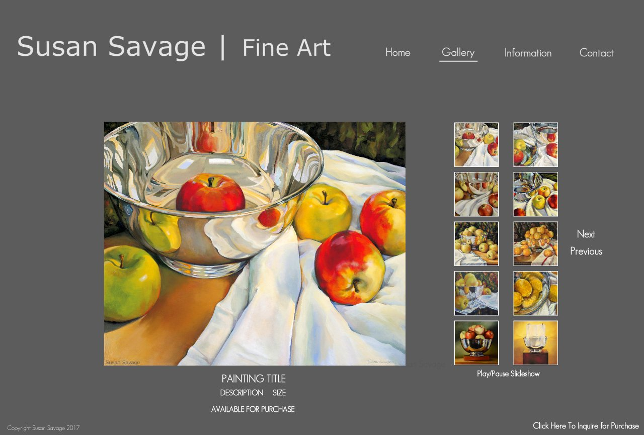 Fine Art Still Life Gallery of Paintings