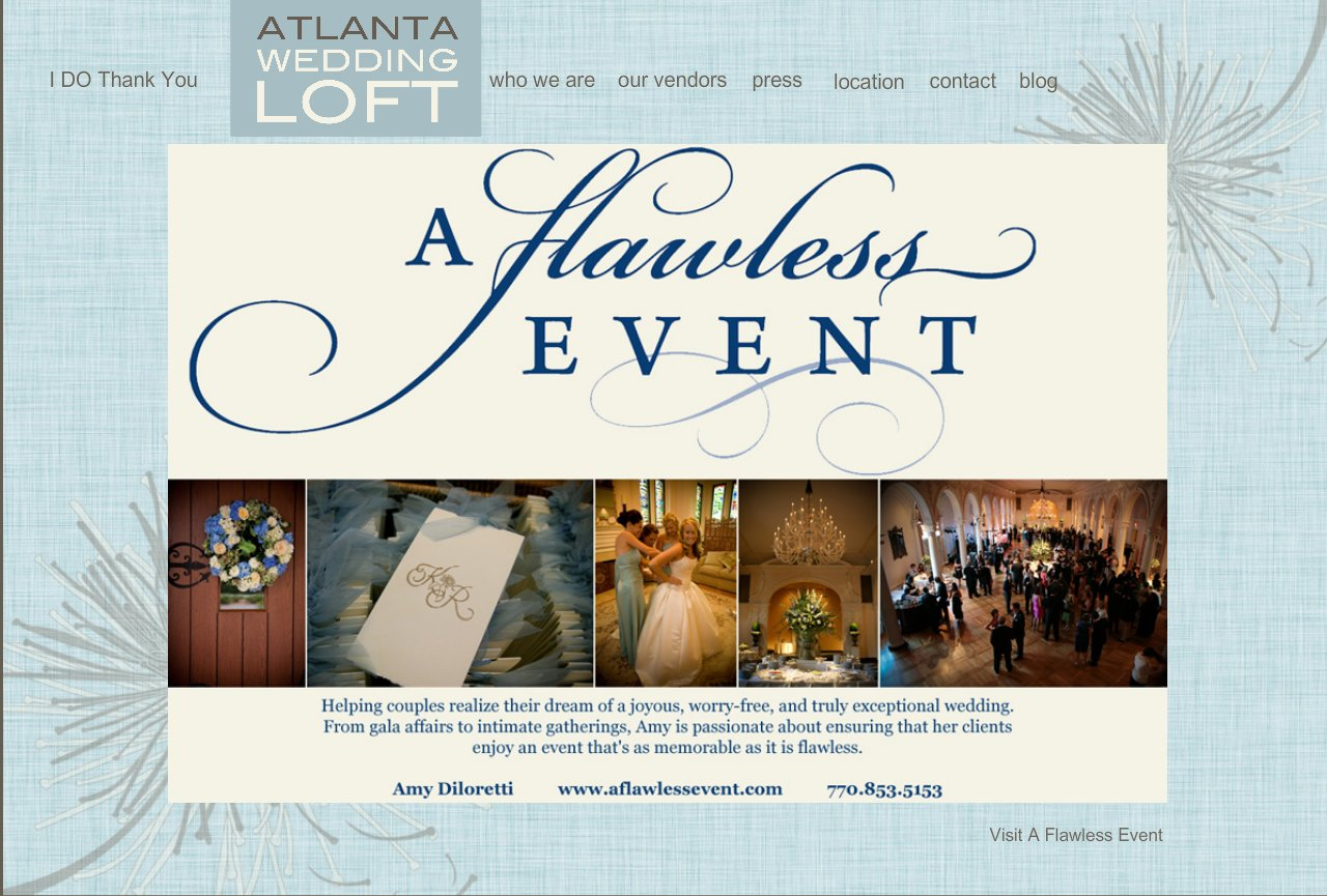 A Flawless Event Wedding and Event Planning