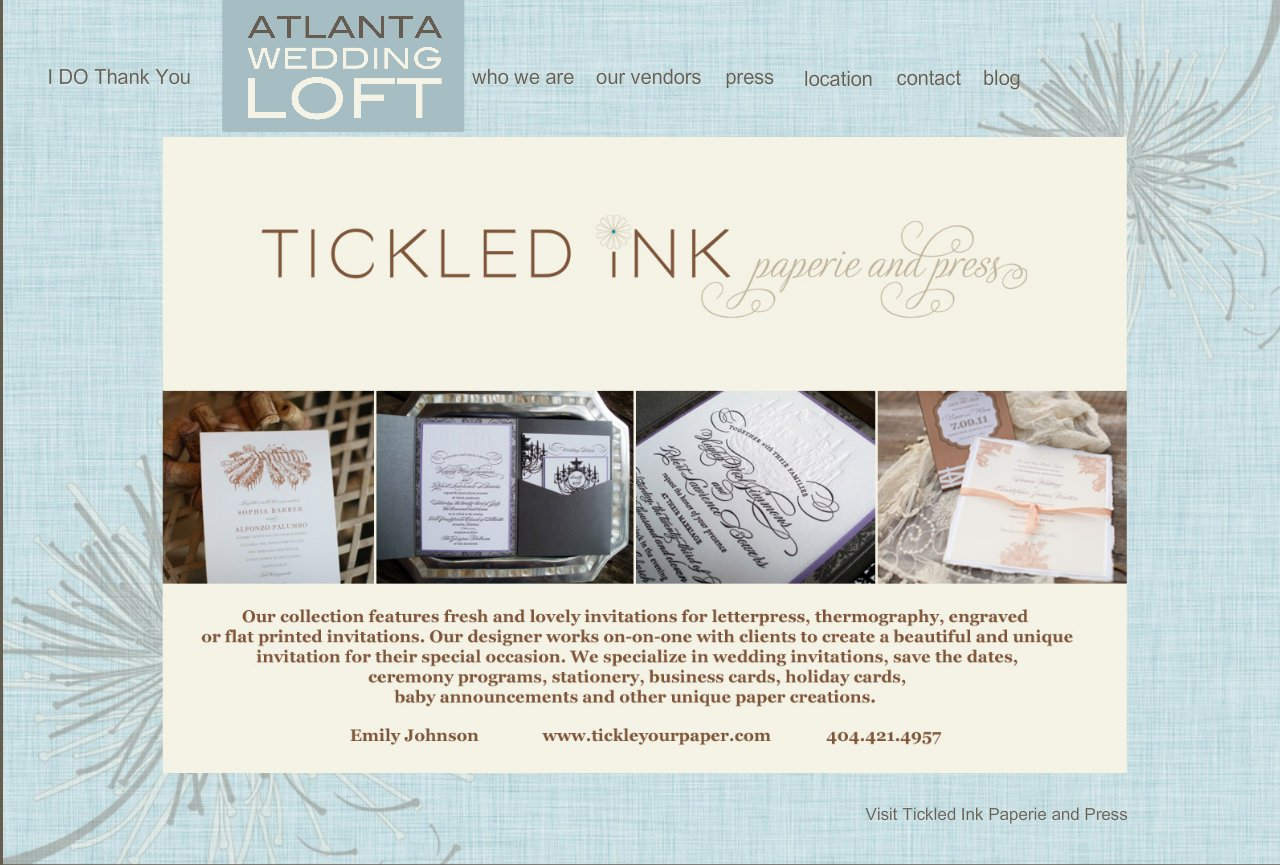 Tickled Ink Paperie and Press