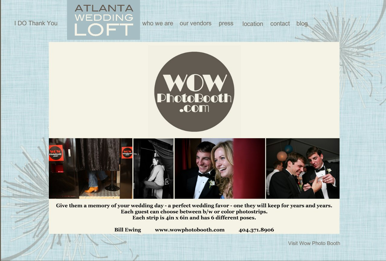 WOW Photobooths for Weddings