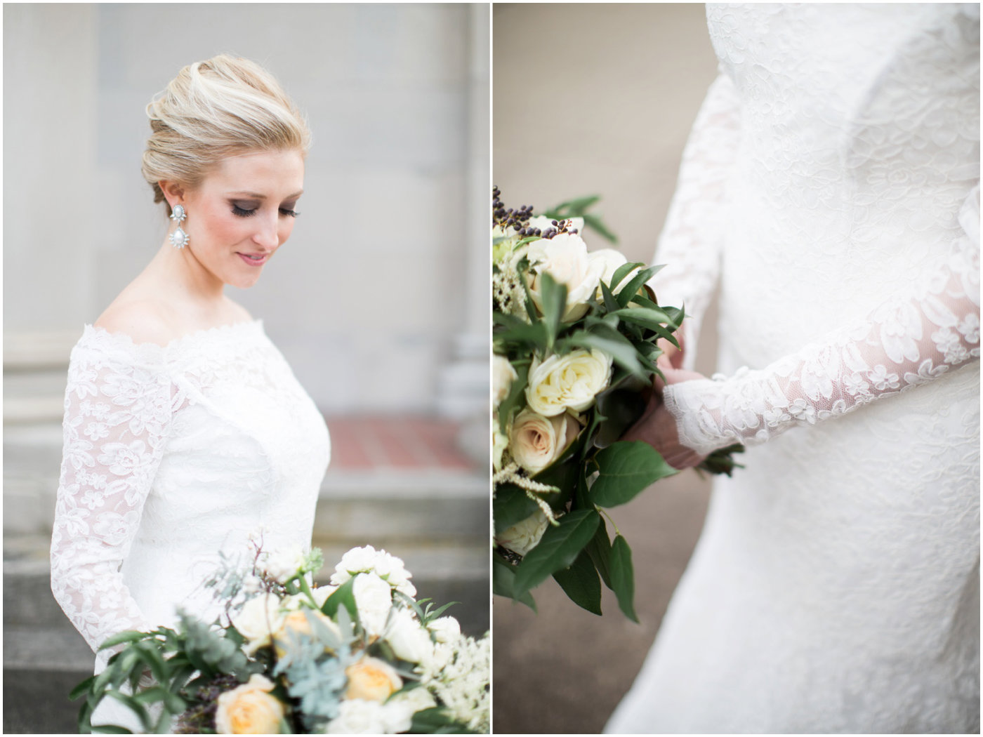 Conrad indianapolis weddings indianapolis conrad wedding bride with beautiful florals from the empty vase reviewsmspy