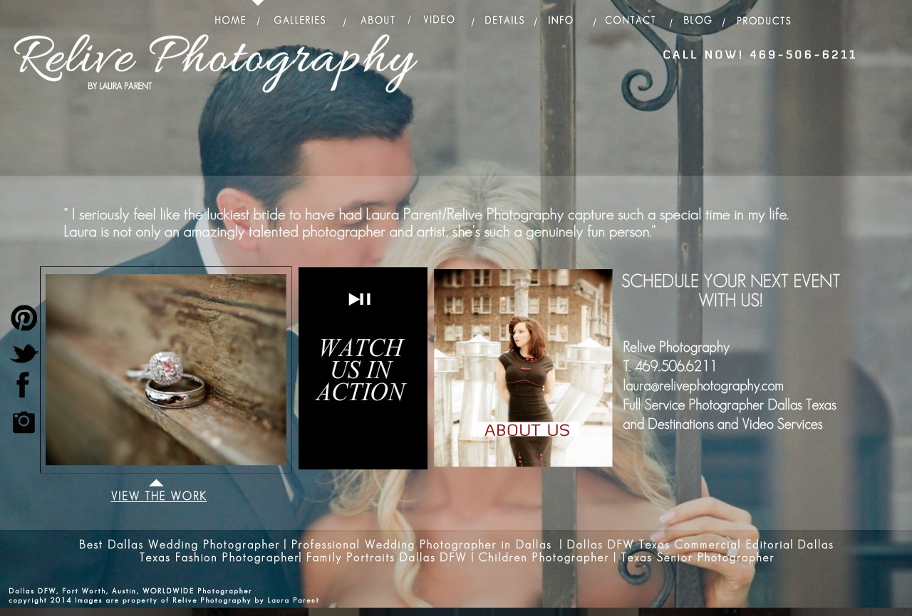 Dallas Texas DFW Fort Worth Professional Photographer | Relive Photography by Laura Parent