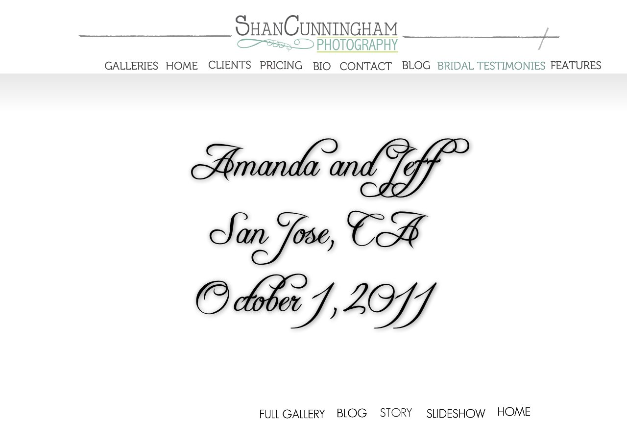 Amanda and Jeff Home