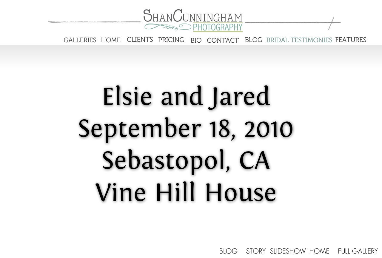 Elsie and Jared Home