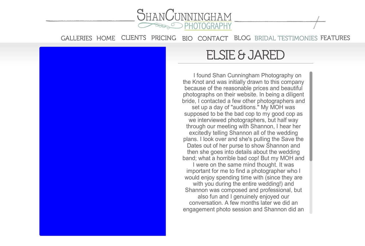Elsie and Jared Review