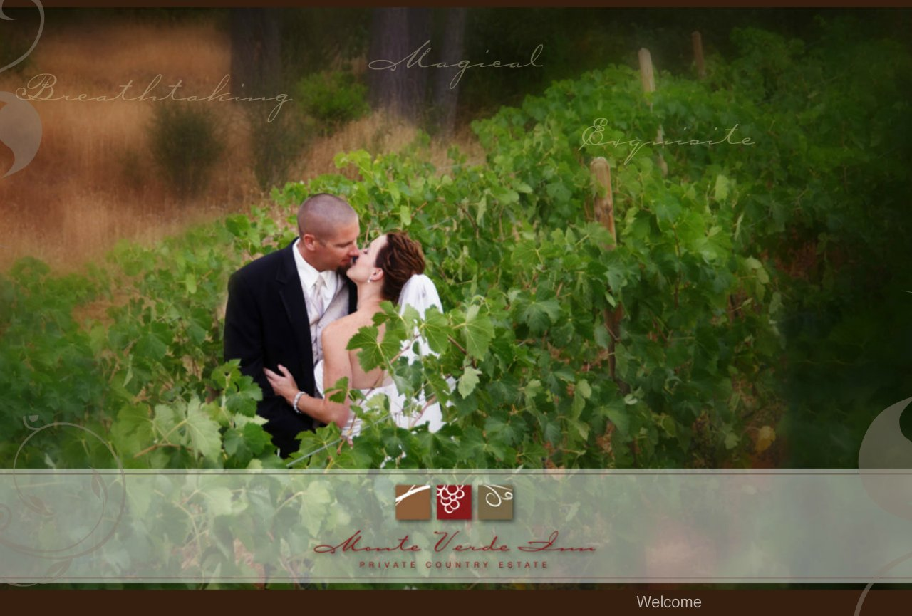 Monte Verde Inn -  Sacramento - Auburn Wedding Venue