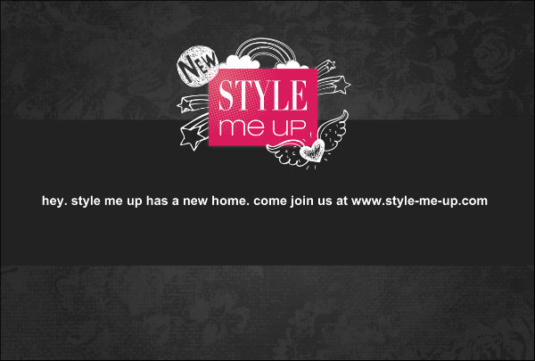 Style Me Up Has Moved!