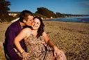 Santa Barbara Goleta Beach Engagement Photography