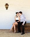 Santa Barbara Engagement Photography at the El Presidio