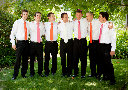 Sonoma County Groomsmen Photo at the Vine Hill House