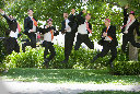 Groomsmen Photography at the Vine Hill House