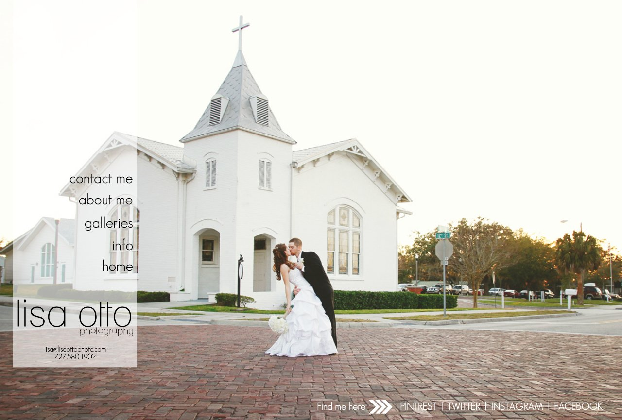 Palm Harbor Wedding Photographer | Lisa Otto Photography