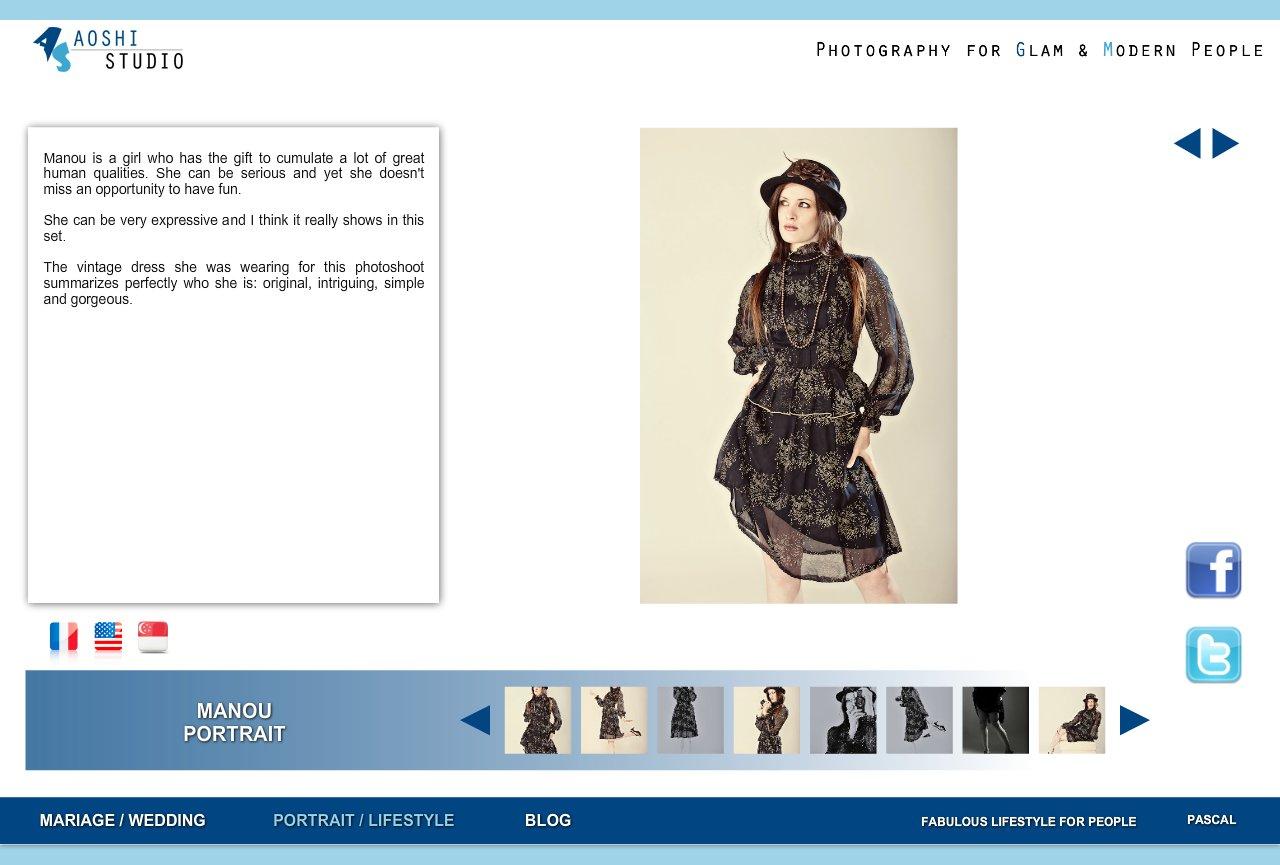 Aoshi Studio - Pascal Tran Binh - Photography for Glam and Modern People