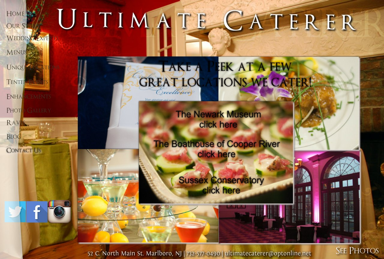 Ultimate Caterer Home Page