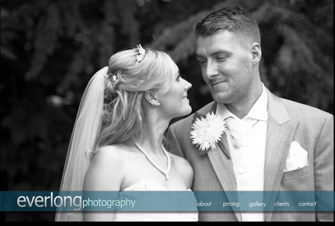 Everlong Home Page - South Shields Wedding Photography
