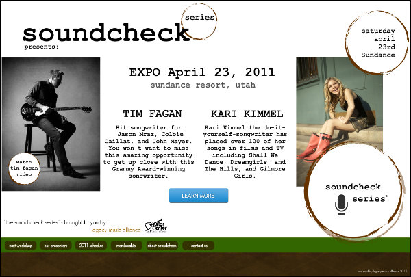 Welcome to Soundcheckseries.com