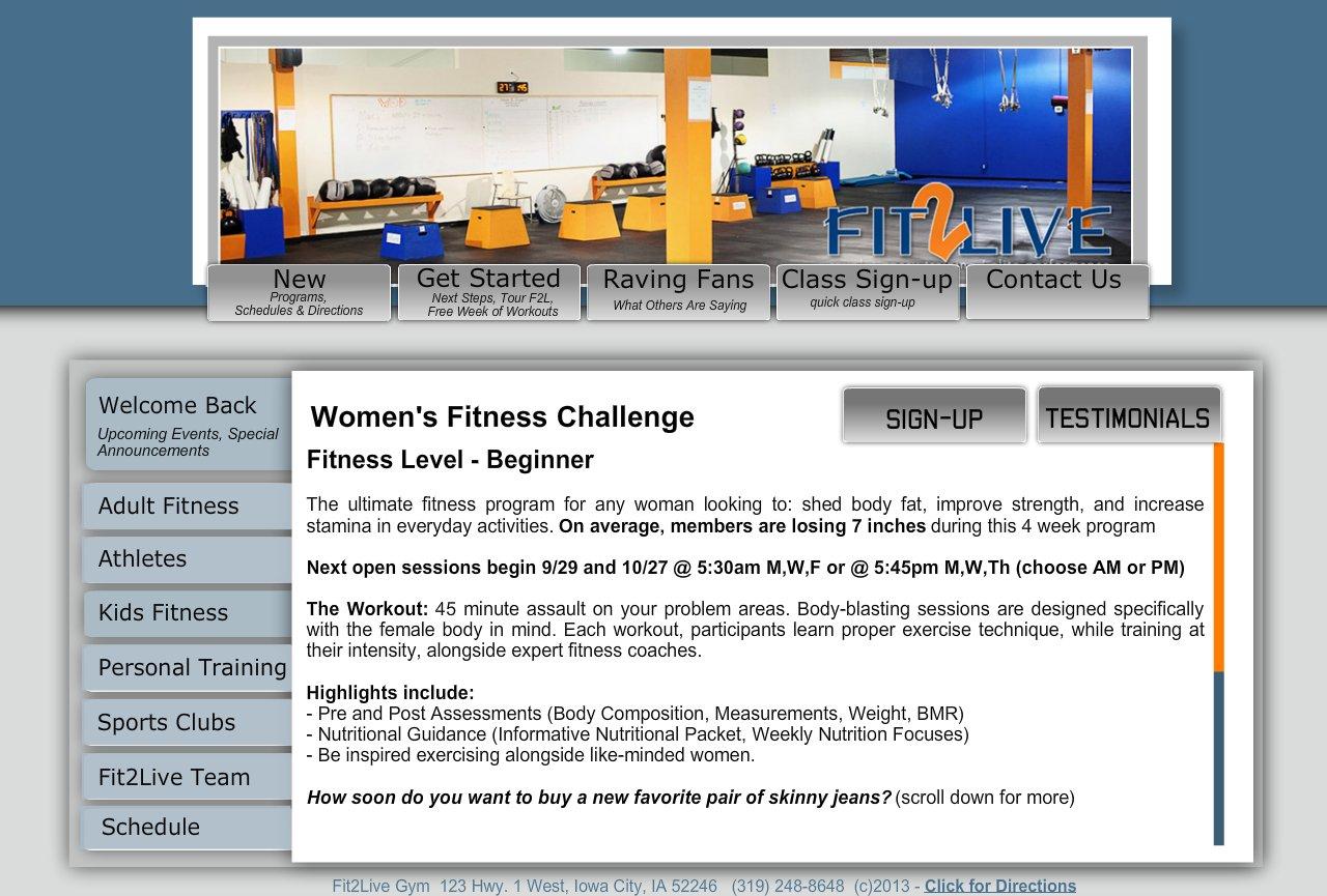 Women's Fitness Challenge