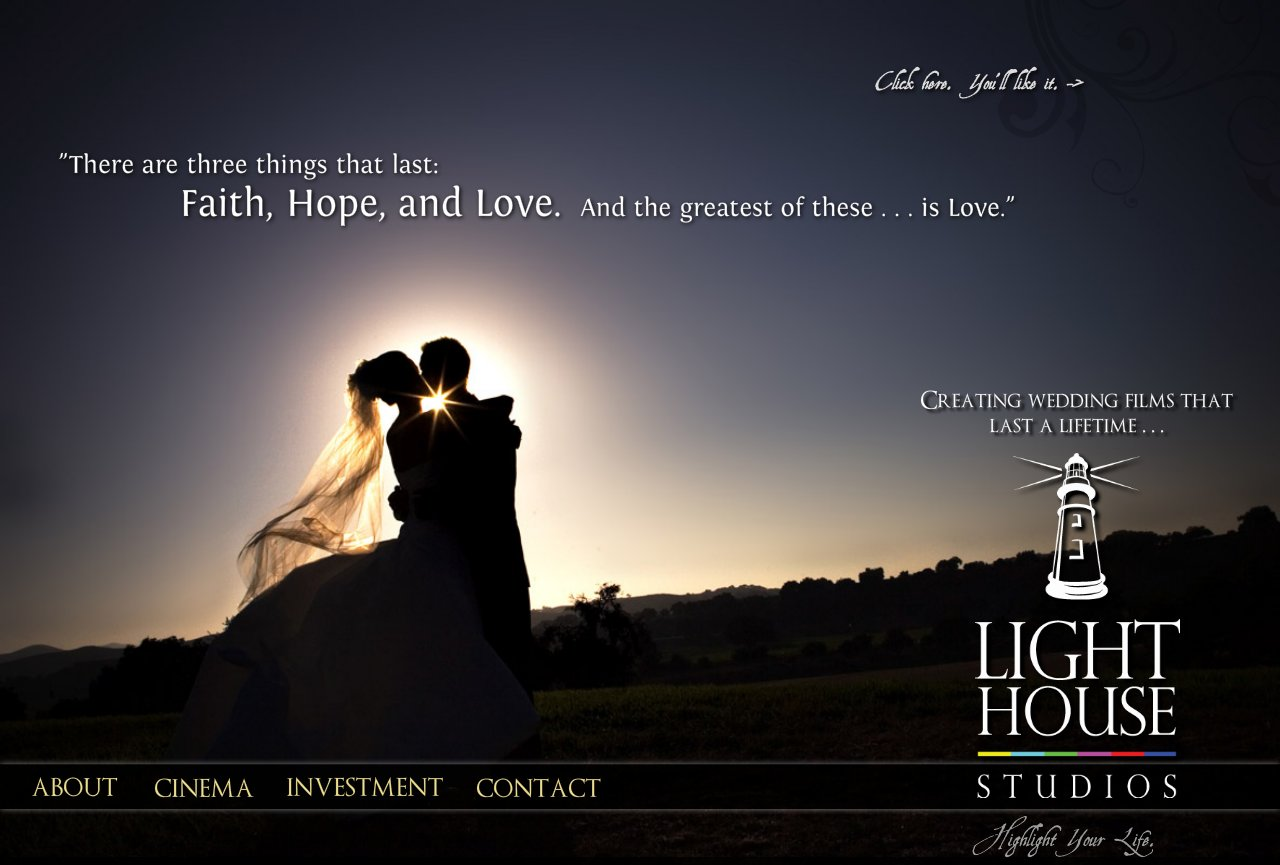 Wedding Cinematography from Lighthouse Studios
