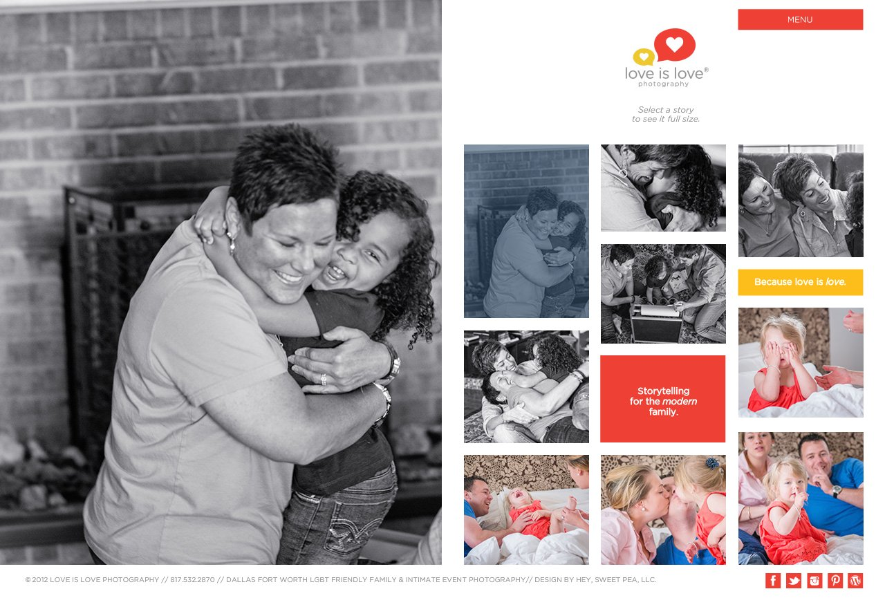 Dallas - Fort Worth LGBT Friendly Family Photographer