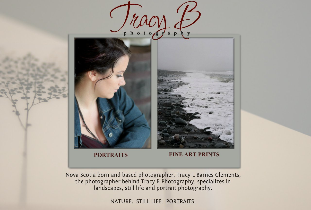 Tracy  B Photography | Tracy L B Clements | Nova Scotia Portraiture and Fine Art Print Photography