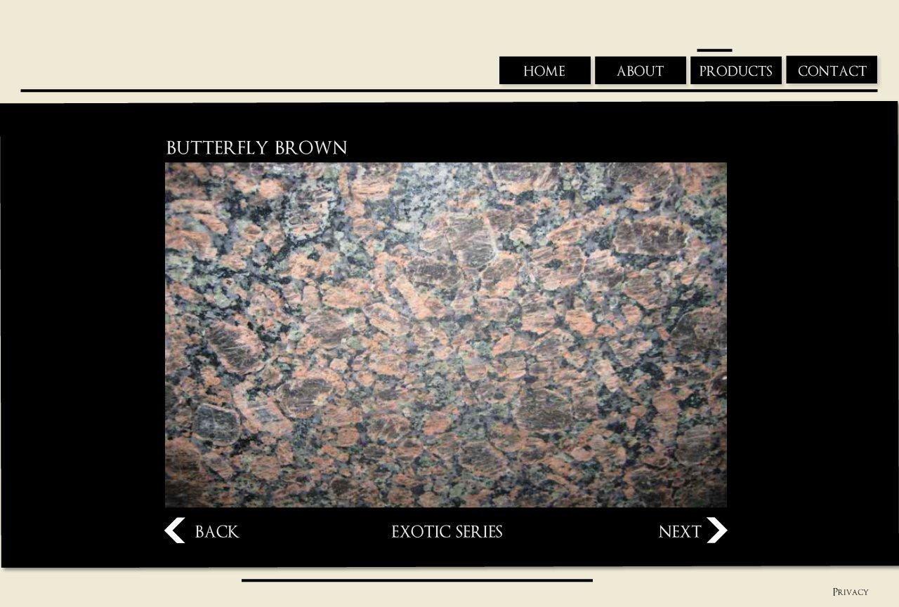 Butterfly Brown Granite