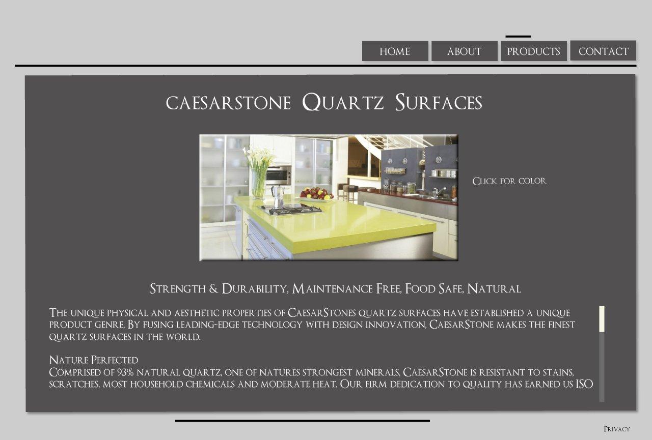 Caesarstone Countortops