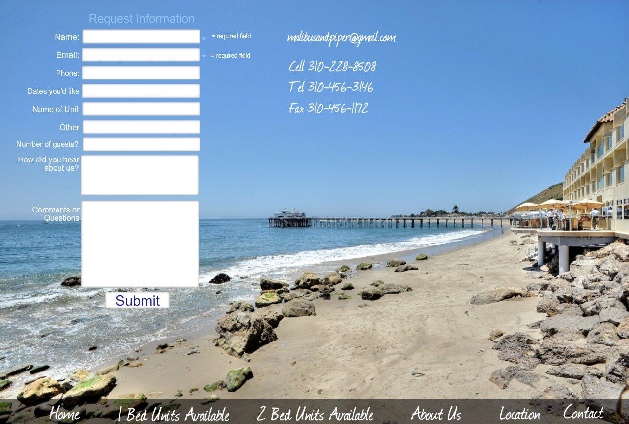 Contact Malibu Rentals