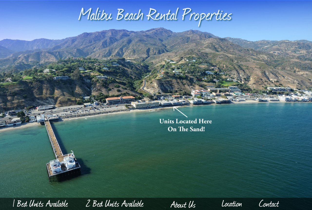 Malibu Beach Rental Properties