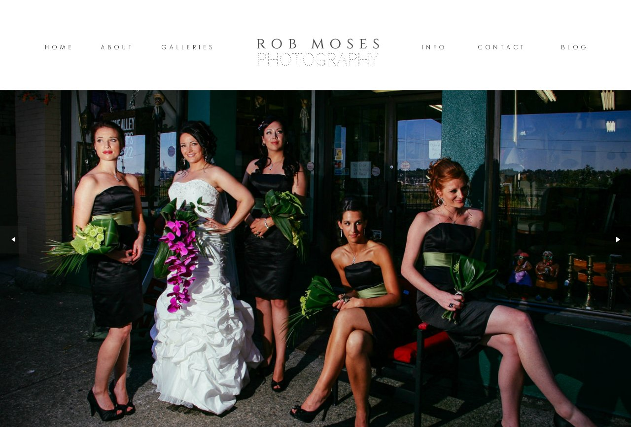 Wedding Photography by Rob Moses - Modern - Calgary, Vancouver, Seattle, Spokane, Portland, SF, LA, NYC