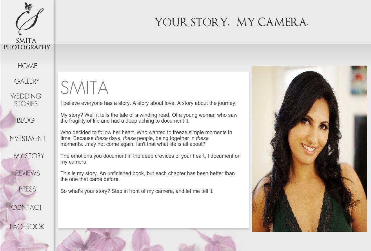 Smita Photography Bio