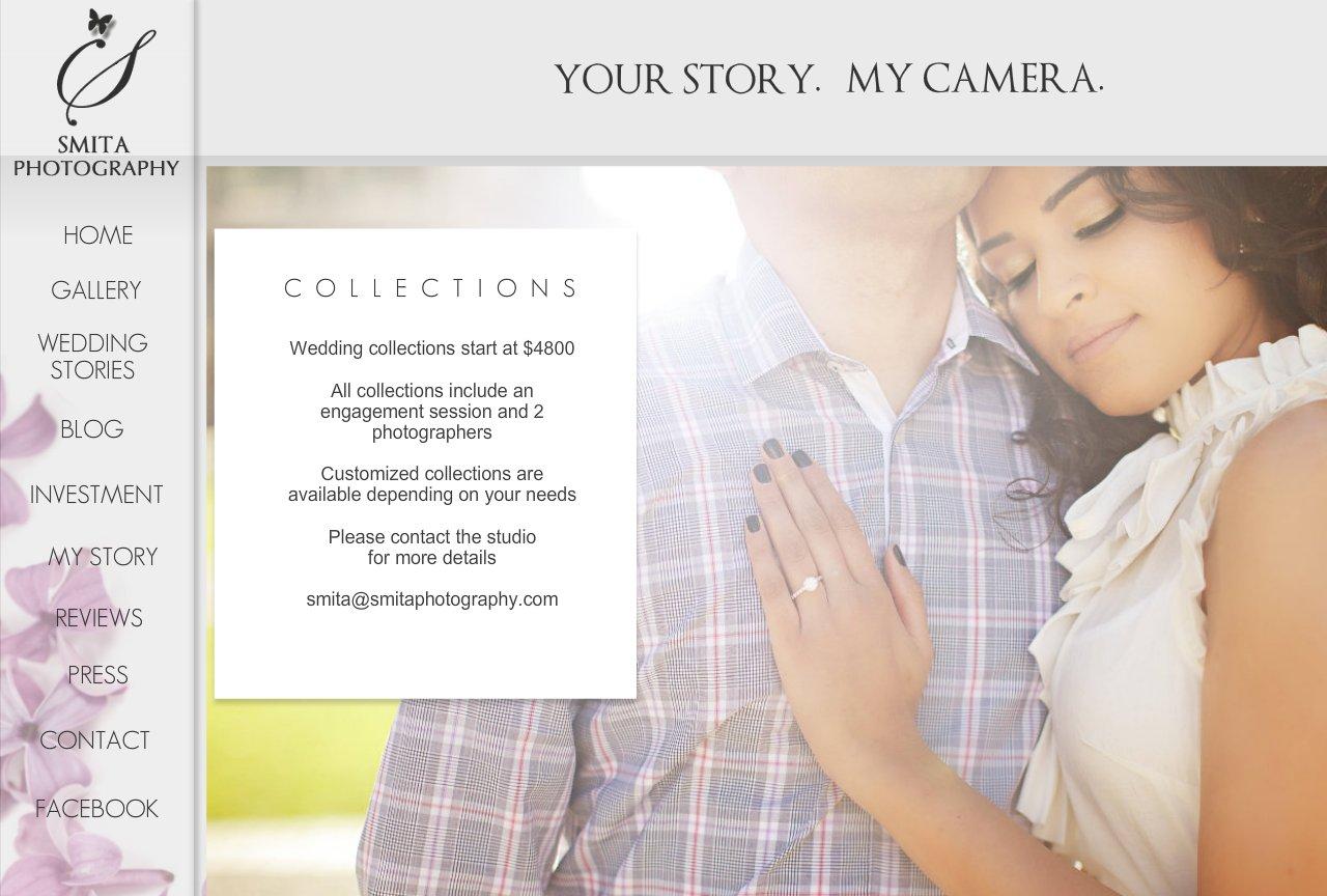 Smita Photography Pricing