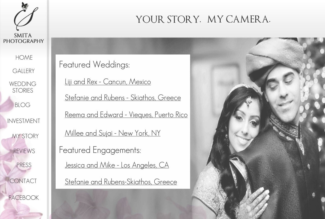 Smita Photography Featured Weddings