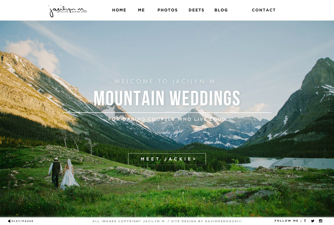 Mountain Wedding Photographer