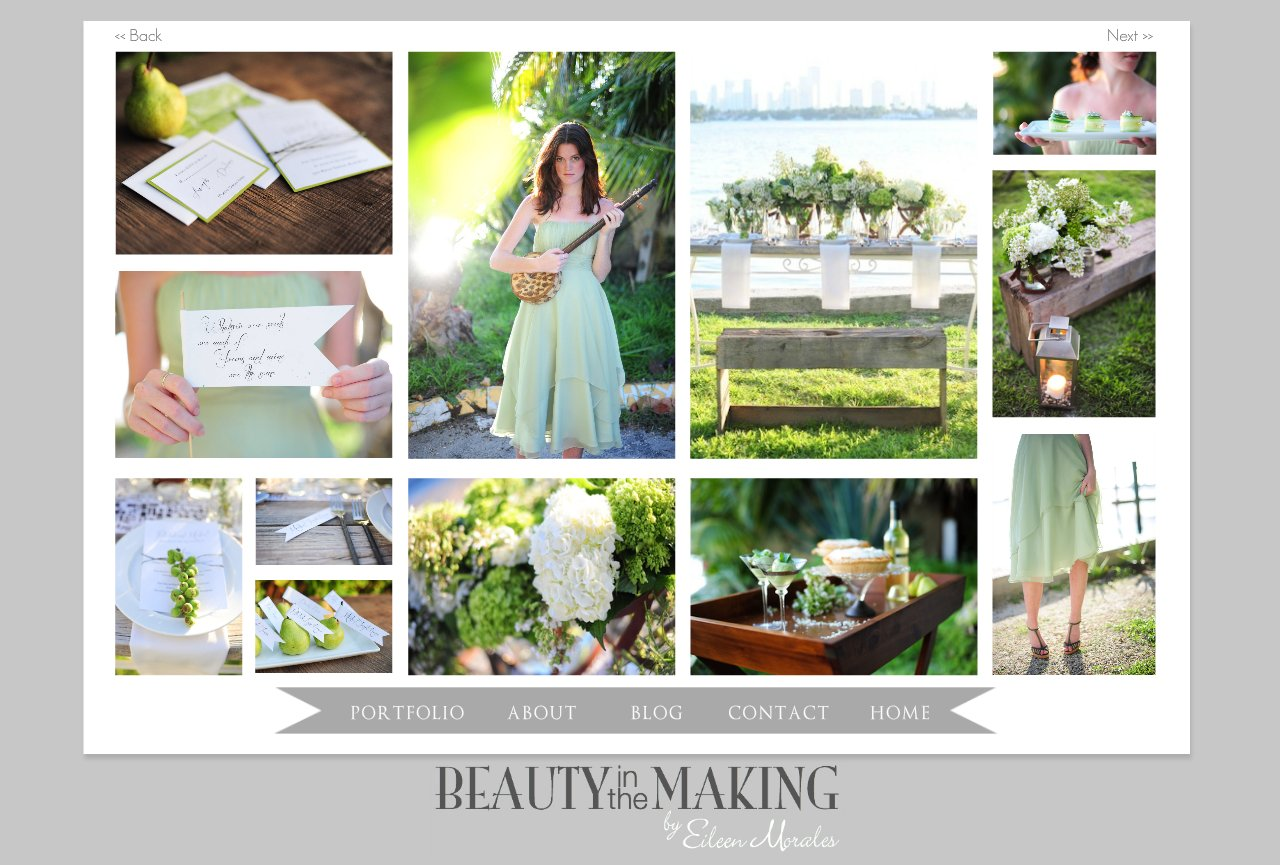 GREEN GARDEN WEDDING